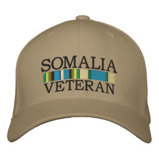 SOMALIA, VETERAN hat Embroidered Hats