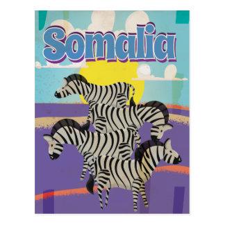 Somalia Vintage Travel Poster Postcard