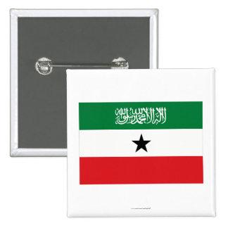Somaliland Flag 15 Cm Square Badge
