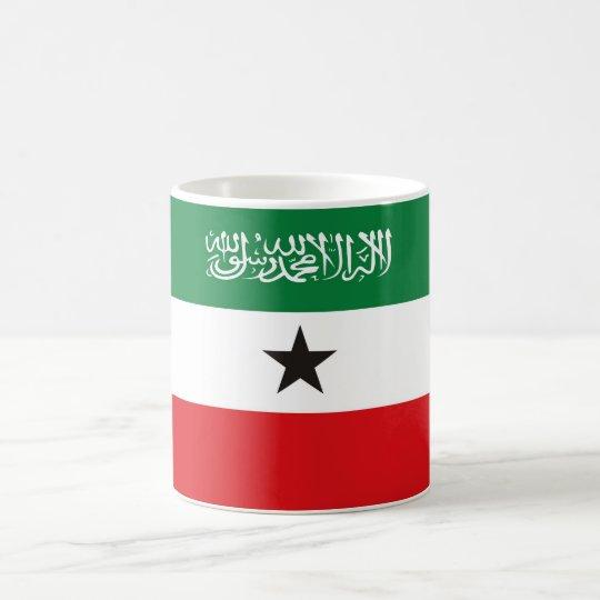 Somaliland flag coffee mug