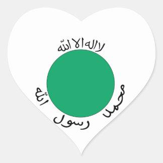 Somaliland Heart Sticker