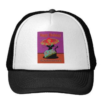 Sombrero Cat Godmother Cap