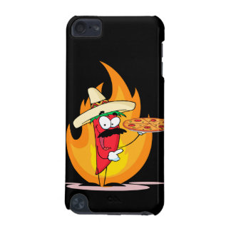 Sombrero Chile Chili Pepper Holds Up Pizza iPod Touch 5G Case