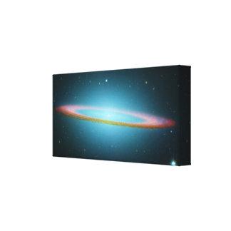 Sombrero Galaxy - M104 - wrapped canvas Gallery Wrap Canvas