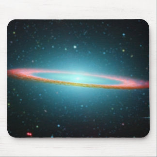 Sombrero Galaxy Mouse Pads