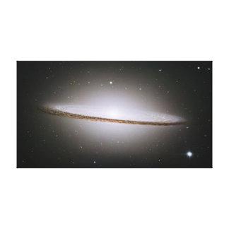 Sombrero Galaxy Wrapped Canvas Canvas Prints