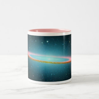 Sombrero spiral galaxy NGC 4594 Two-Tone Coffee Mug