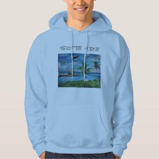 Some Are Custom Men's Basic Hooded Sweatshirt