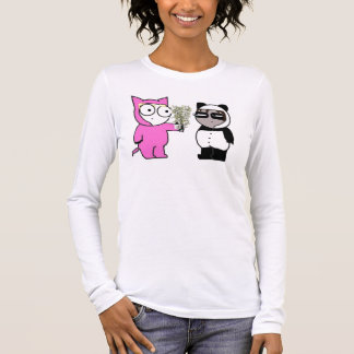 Some bamboo for sad panda? long sleeve T-Shirt