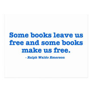 Some Books Make Us Free Post Cards