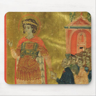 Some brothers praying to St. Theodore Mouse Mat