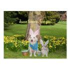 Some bunnies love you! postcard