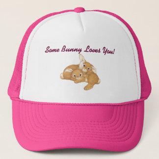 Some Bunny Baseball Hat