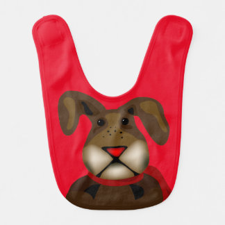Some Bunny Christmas Red Bib