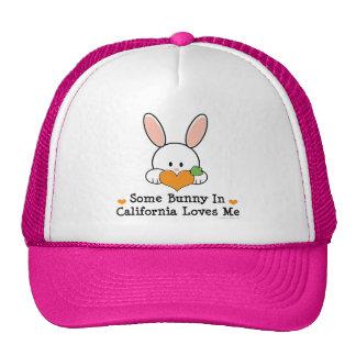 Some Bunny In California Loves Me Hat