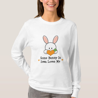 Some Bunny In Iowa Loves Me Long Sleeve T-shirt