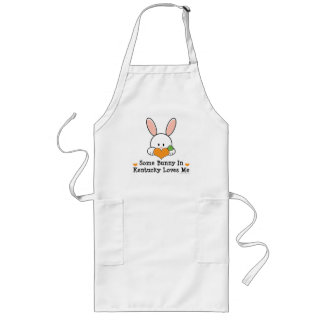 Some Bunny In Kentucky Loves Me Long Apron