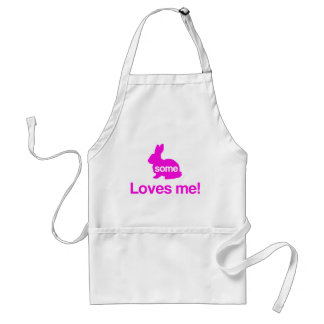 Some Bunny Loves Me Aprons