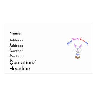 Some Bunny Loves Me custom Easter Business Card