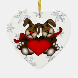 Some Bunny Loves You Christmas Ornament