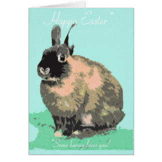 Some bunny loves you Easter card