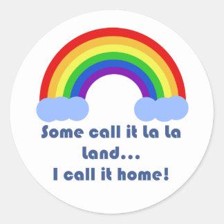 Some Call it La La Land Stickers