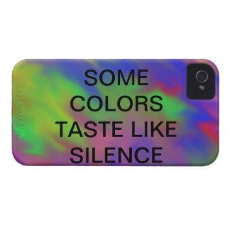 some colors taste like silence case
