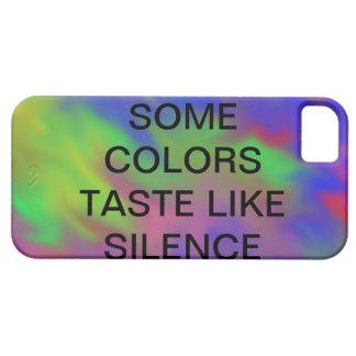 some colours taste like silence case