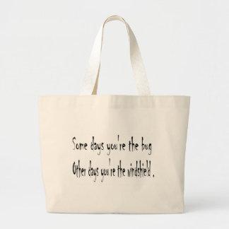 Some days jumbo tote bag
