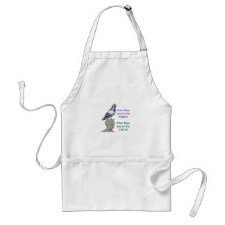 SOME DAYS YOURE THE STATUE STANDARD APRON