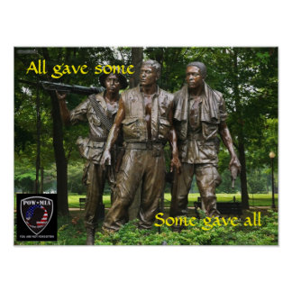 Some gave all poster