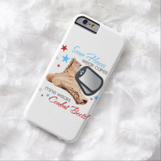 Some Heroes Wear Capes, Mine Wears Combat Boots Galaxy S4 Case