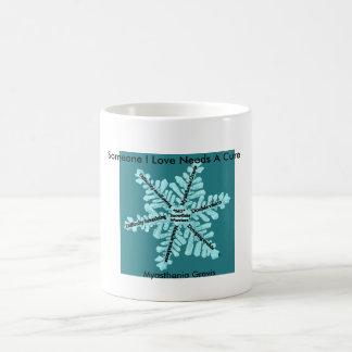 Some I Love Needs A Cure- Myasthenia Gravis Basic White Mug