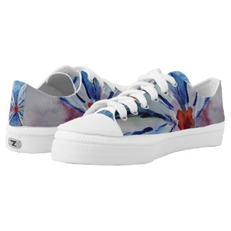 Some Kind of Flower Low Tops