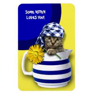 Some Kitten Loves You. Mother's Day Gift Magnets