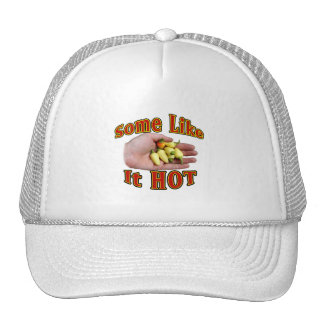 Some Like It Hot White Habanero Hand Pile Hats