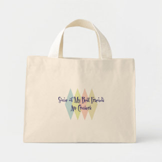 Some of My Best Friends Are Cruisers Mini Tote Bag
