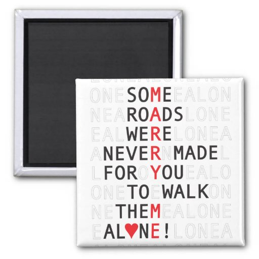 Some Roads Proposal Valentine Magnet