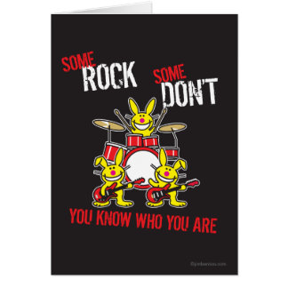 Some Rock Greeting Card