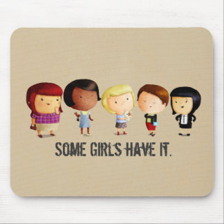 Some Subculture Girls Mouse Mat