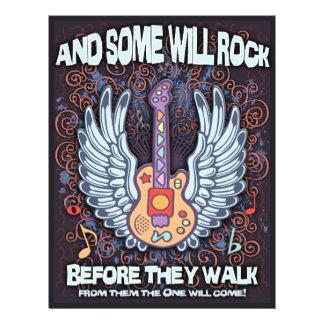 Some Will Rock 21.5 Cm X 28 Cm Flyer