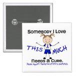 Somebody I Love - Arthritis Rheumatoid (Girl) 15 Cm Square Badge