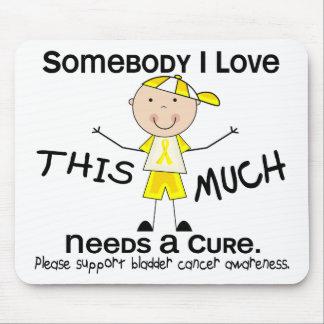 Somebody I Love - Bladder Cancer (Boy) Mouse Pad