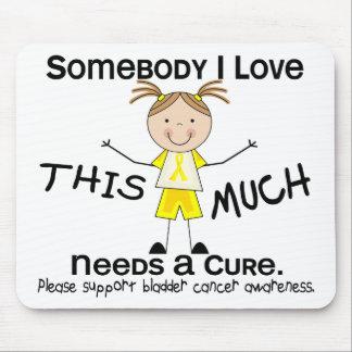 Somebody I Love - Bladder Cancer (Girl) Mouse Pad