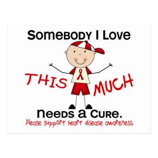 Somebody I Love - Heart Disease (Boy) Postcard