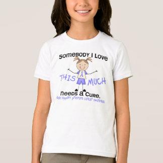 Somebody I Love - Prostate Cancer (Girl) T-Shirt