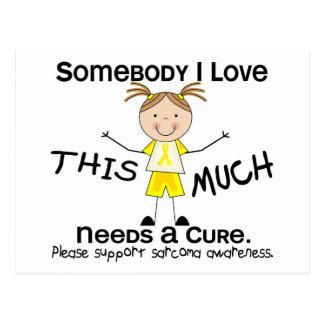 Somebody I Love - Sarcoma (Girl) Postcard