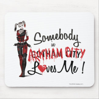 Somebody in AC Loves Me - Harley Mouse Mat