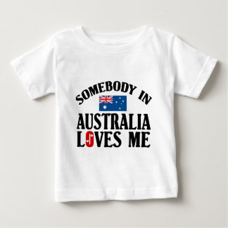 Somebody In Australia Baby T-Shirt