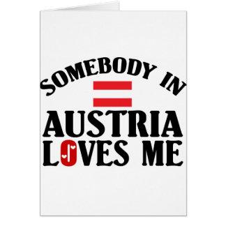 Somebody In Austria Cards